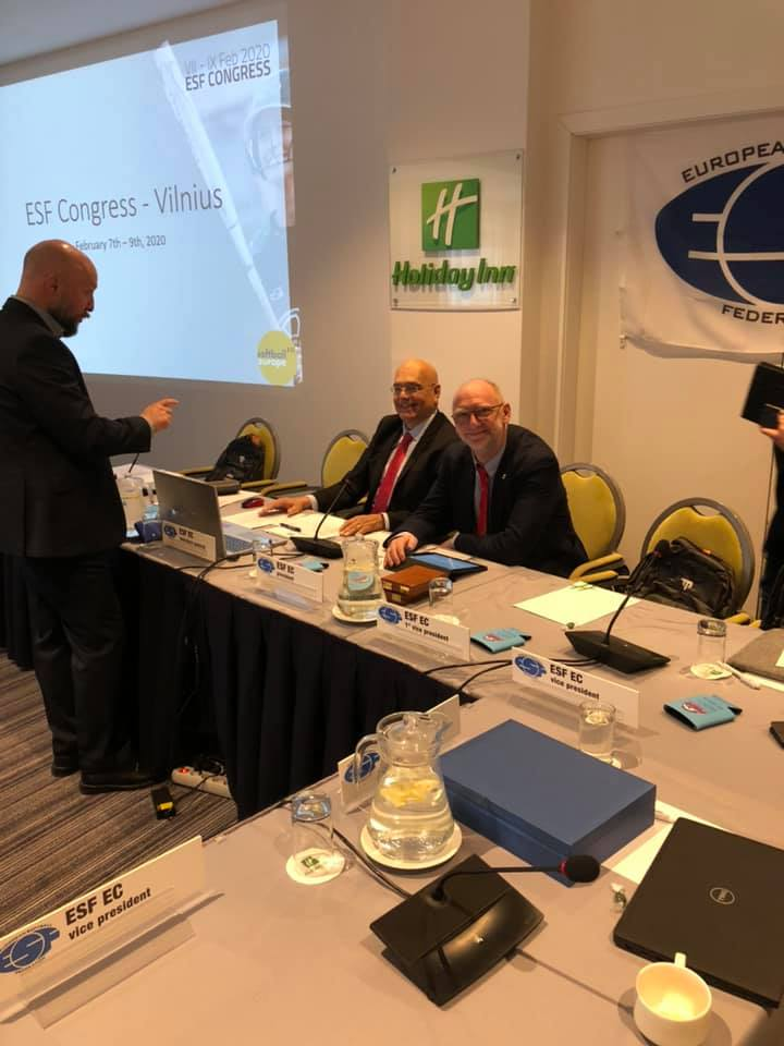 Europos beisbolo konfederacijos (CEB) ir Europos softbolo federacijos (ESF) kongresas